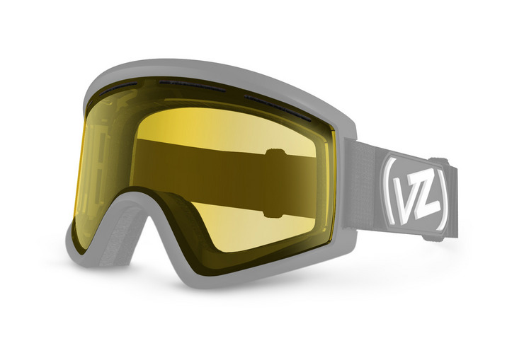 VonZipper Cleaver snowboard & ski goggle replacement lens in fire chrome. GMSL7CLL-FCL