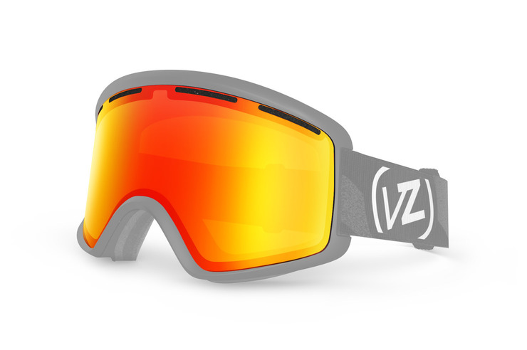 VonZipper Beefy snowboard & ski goggle replacement lens in fire chrome. GMSLVBEL-FCL