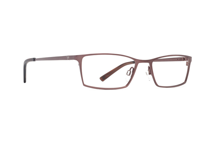 VonZipper Slippers optical eyeglasses in bronze satin are ready to be filled with your prescription lenses.