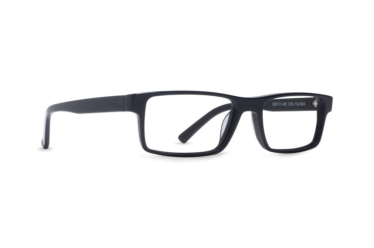VonZipper Fluent in Sarcasm optical eyeglasses in black gloss are ready for your prescription lenses.
