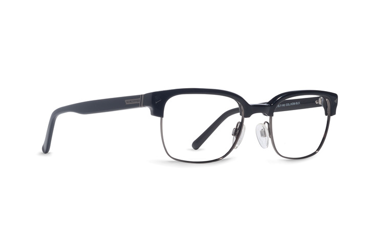 VonZipper Homeland Obscurity optical eyeglasses in black gloss are ready to be filled with your prescription lenses.
