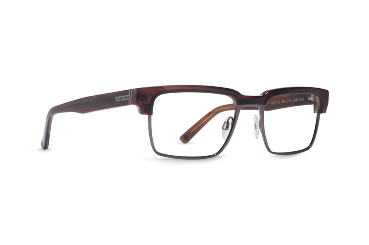 VonZipper Joey Smalls optical eye glasses in tortoise gloss are ready for your prescription lenses.