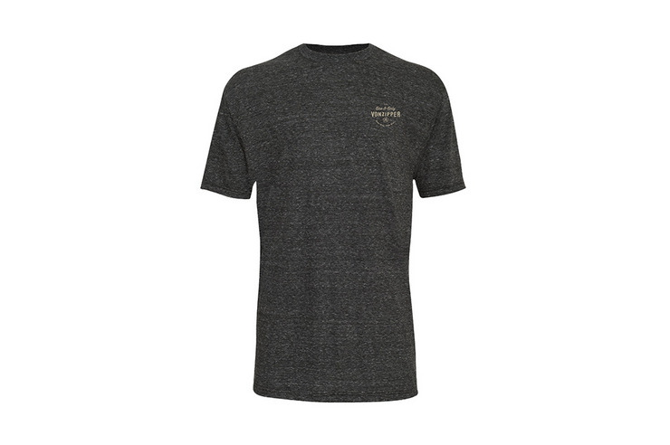 VonZipper VZ One and Only standard fit, short sleeve tee shirt in navy.