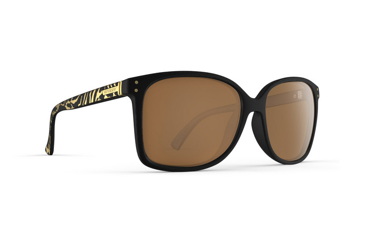 VonZipper Castaway women's sunglasses in black crystal with gradient polycarbonate lenses SJJF1CAS-BCE