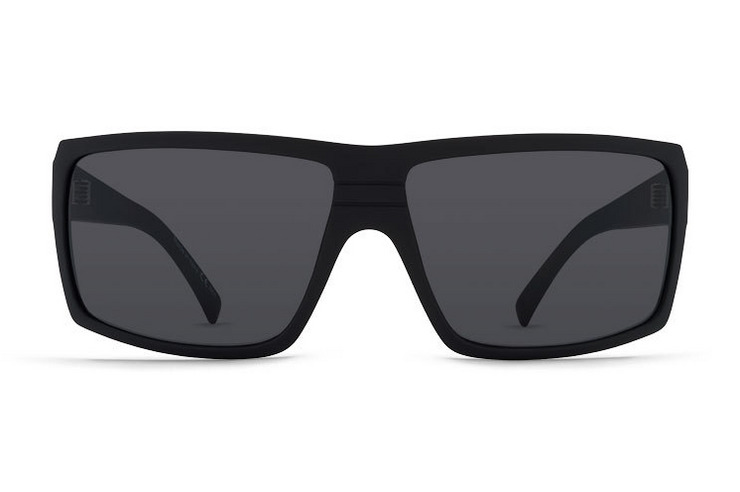 VonZipper Snark sunglasses in black gloss with grey polycarbonate lenses SMSFCSNA-BKG