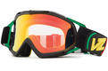 Alternate Product View 1 for Bushwick XT MX Goggle VIBRATIONS/RED CHRM